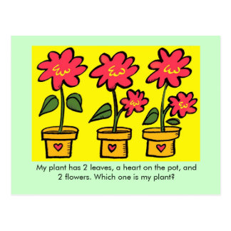 Which One is My Plant? Postcard