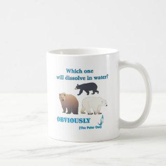 Which one will dissolve in water Polar Chemistry Basic White Mug
