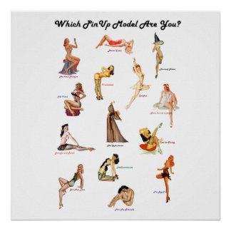 Which PinUp Model Are You? poster