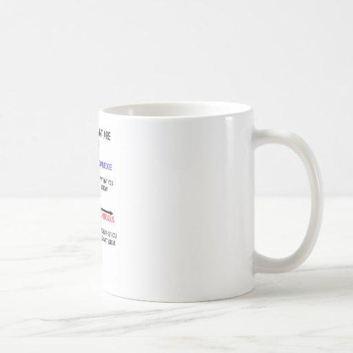 Which Quadrant Are You In? Coffee Mug