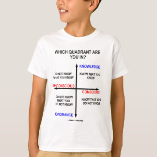 Which Quadrant Are You In? T-Shirt