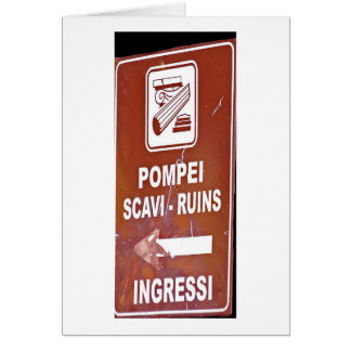 Which way is Pompeii? Cards