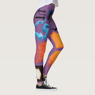 Which Way to Go Arrows Leggings