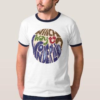 Which Way to Wonderland? (scratch) T-Shirt