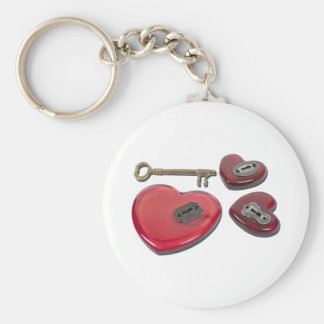 WhichHeartUnlock071611 Basic Round Button Key Ring