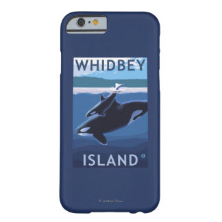 Whidbey Island, WashingtonOrca and Calf Barely There iPhone 6 Case