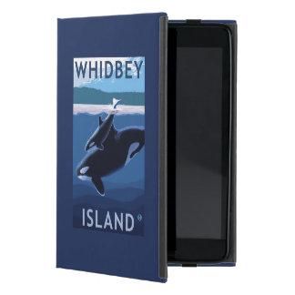 Whidbey Island, WashingtonOrca and Calf Case For iPad Mini