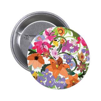 Whiff - Fractal Art, Button