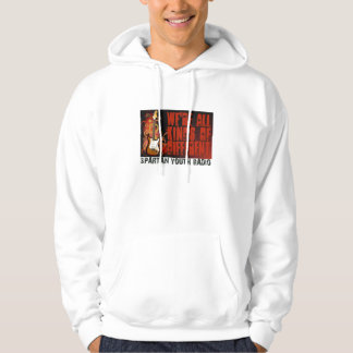 While My Guitar Gently Weeps Hoodie