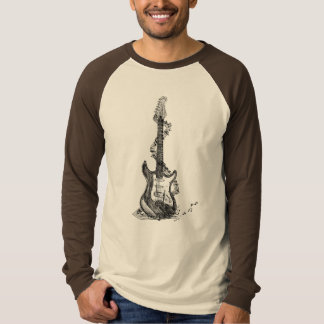 While My Guitar Gently Weeps Tee Shirt