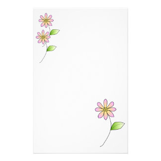 Whimisical Floral Stationery