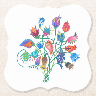 Whimsey Bouquet Coasters