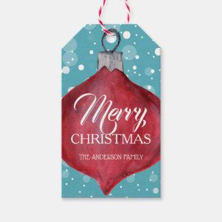 Whimsical and Fun Christmas Gift Tag
