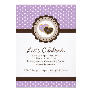 Whimsical and Sweet Birthday Party Invitation