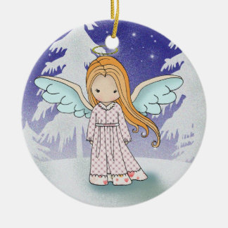 Whimsical Angel christmas Ornament