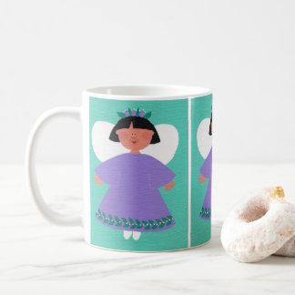 WHIMSICAL ANGEL Original Folk Art Classic Mug