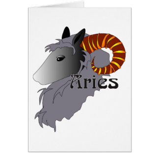 Whimsical Aries Cards