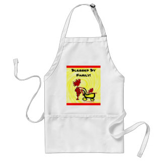 Whimsical Baby Standard Apron