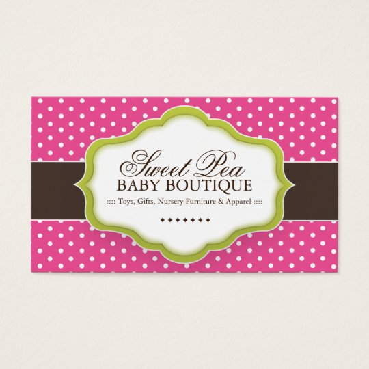Whimsical baby boutique business cards zazzle whimsical baby boutique business cards colourmoves