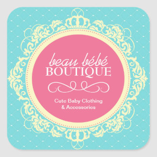 Whimsical Baby Boutique Stickers