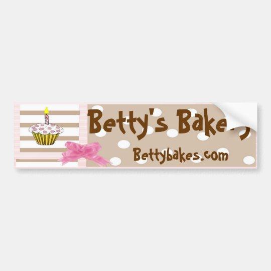 Whimsical Bakery Bumpersticker Bumper Sticker