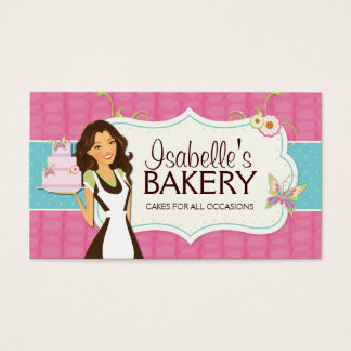 Bakery Business Cards Business Card Printing Zazzlecouk