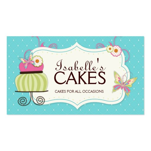 Premium bakery business card templates whimsical bakery business card colourmoves