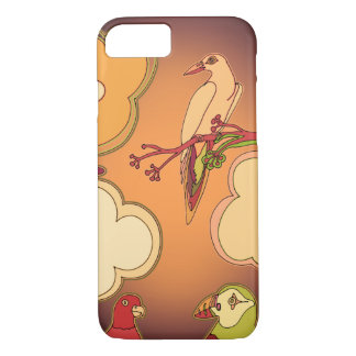 Whimsical Birds iPhone 8/7 Case