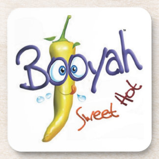 Whimsical Booyah design Coaster