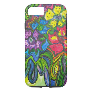 Whimsical Bouquet of Kitties iPhone 7 Case