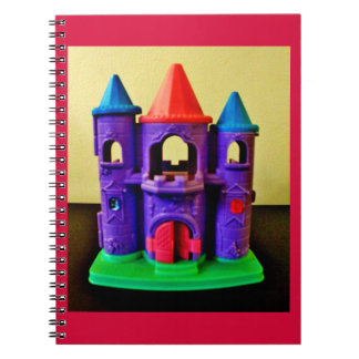 Whimsical Castle Spiral Notebook
