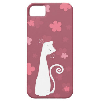 Whimsical Cat iPhone 5 Case