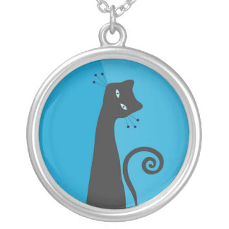 Whimsical Cat Necklace