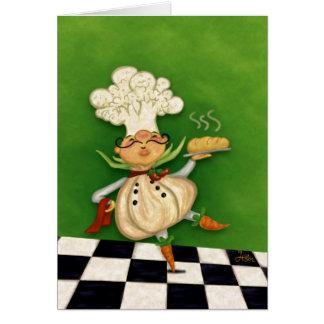 Whimsical Chef Greeting Card