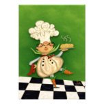 Whimsical Chef Personalised Invites