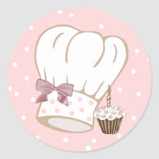 Whimsical Chef s Hat Sticker