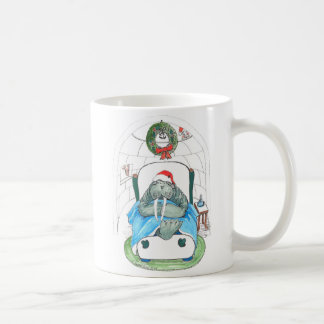 Whimsical Christmas Alaska Wildlife Coffee Mug