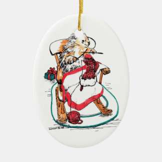 Whimsical Christmas Alaska Wildlife Ornament