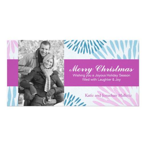 Whimsical Christmas Holiday Photo Card