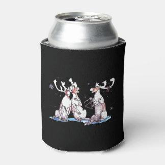 Whimsical Christmas Singing Caribou