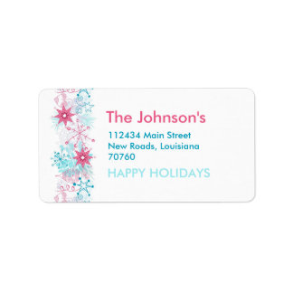 Whimsical Christmas (Today's Best Award) Address Label