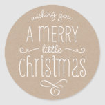 WHIMSICAL CHRISTMAS TYPOGRAPHY trendy cute kraft