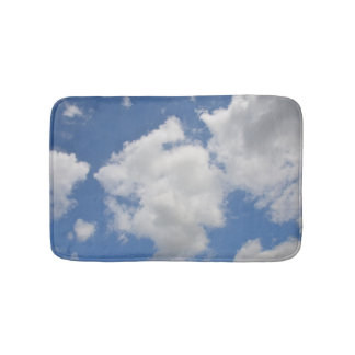 Whimsical Cloud Bath Mat