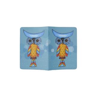 Whimsical Colorful Fantasy Owl