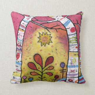 Whimsical, Colorful, Leaning into Starlight Cushion