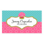 Whimsical Cupcake Bakery Business Cards
