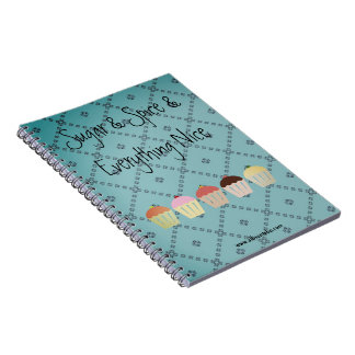 Whimsical Cupcake Notebook