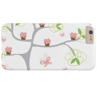 Whimsical Cupcakes Tree Butterflies Sweet Birthday iPhone 4 Cases
