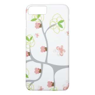 Whimsical Cupcakes Tree Butterflies Sweet Birthday iPhone 7 Plus Case