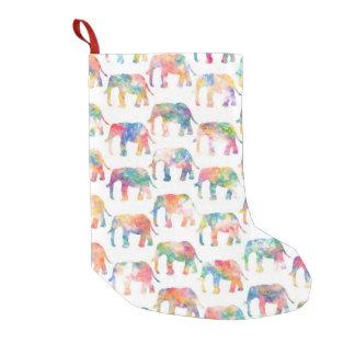 Whimsical Cute Watercolor Elephants Pattern